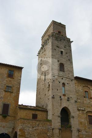Dorfansicht San Gimignano, Toskana - City view of San Gimignano, Tuscany stock photo, San Gimignano ist eine weltber?hmte italienische Kleinstadt in der Toskana, im oberen Elsatal mit einem mittelalterlichen Stadtkern. - San Gimignano is a small walled medieval hill town in the province of Siena, Tuscany, north-central Italy. by Wolfgang Heidasch