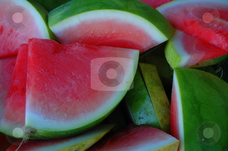 Juicy Watermelon stock photo,  by Richard Sheehan