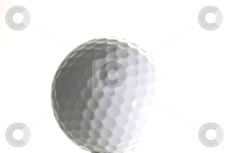 Golf-ball, bright stock photo, A golf-ball on a bright background by Peter Soderstrom