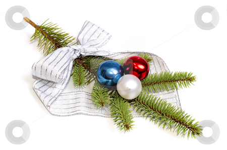 Christmas Wreath stock photo, Christmas decoration by Marek Kosmal