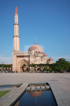 Putrajaya Mosque stock photo, Putrajaya Mosque by Jaggat Images