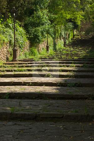 Treppe in Volterra, Toskana - Stairway in Volterra, Tuscany, Italy stock photo, Treppe in Volterra, Toskana - Stairway in Volterra, Tuscany, Italy by Wolfgang Heidasch
