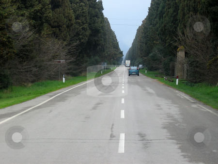Road stock photo,  by Wolfgang Heidasch