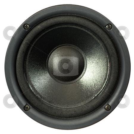 Loudspeaker stock photo, A loudspeaker by Peter Soderstrom