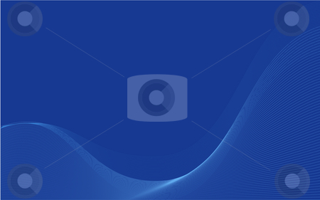 Lines wallpaper stock photo, Blue wavy organic wallpaper, also suitable as business cards by Sybille Yates