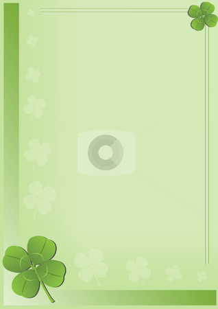 Saint Patricks Day Vector Background stock vector clipart, Saint Patricks Day Background Vector Illustration by John Teeter