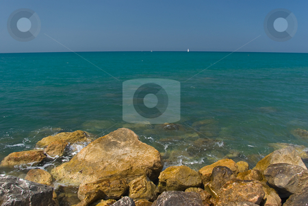 Tyrrenische K?ste - tyrrenic coast stock photo, Bei Cecina Mare, Toskana - At Cecina Mare, Tuscany by Wolfgang Heidasch