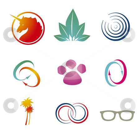 Branding / Logo Templates stock photo, Set of corporate vector branding / logo templates. Just place your own brand name. by Ali Ender Birer