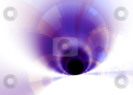 Pastel tunnel stock photo, Subtle pastel background with tunnel effect by Michael Travers