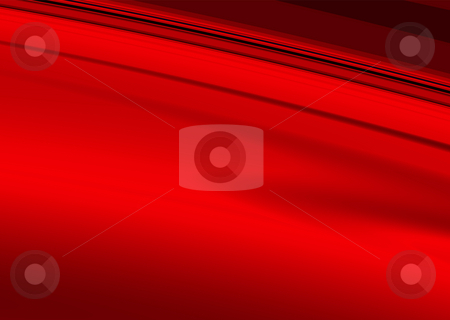 Smooth red stock photo, Smooth red and black background with flowing lines by Michael Travers