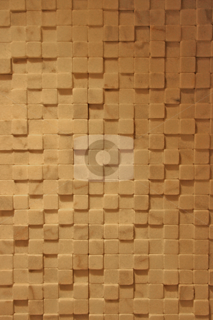 Tile Texture stock photo, A tile textured wall with several layers of marble squares by Kevin Tietz
