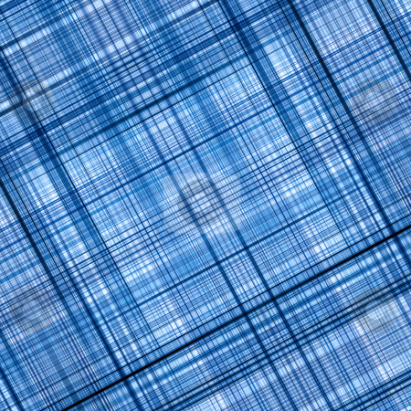 Blue color lines grid pattern abstract background. stock photo, Blue color lines grid pattern abstract background. by Stephen Rees