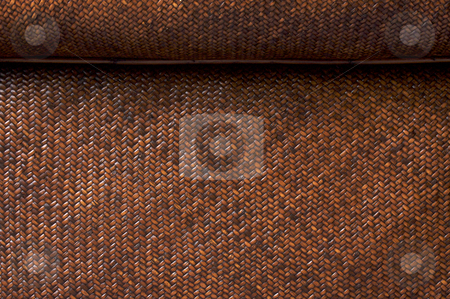 Rattan Weave Background stock photo, Rattan Weave Background Macro Image by Andy Dean