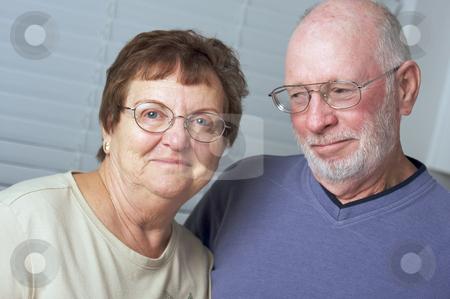 Happy Senior Adult Couple stock photo, Happy Senior Adult Couple Portrait by Andy Dean