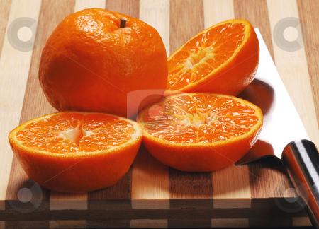 Oranges sliced stock photo,  by Francesco Perre