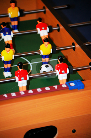 In the corner stock photo, In the corner of the foosball table by Tim Markley