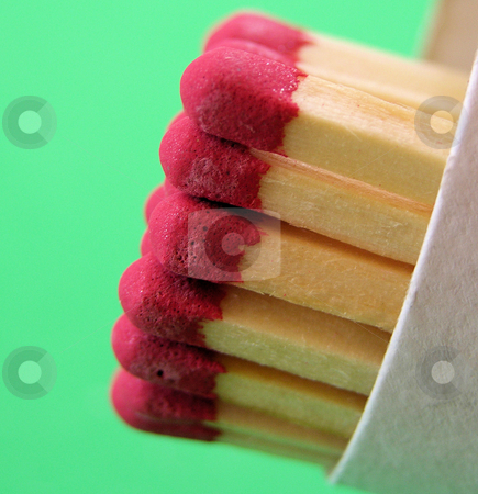 Match box stock photo, tube of long matches ready for use by Tim Markley
