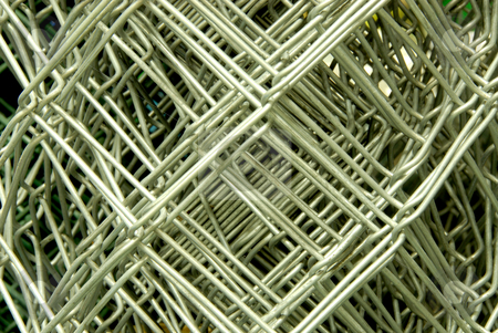 Metal net in close up stock photo, Metal net in close up ready to buy in shop by Joanna Szycik