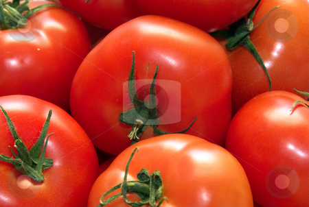 Tomatoes stock photo, A fresh and tasty red tomatoes by Joanna Szycik