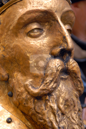 King Zygmunt August (sigmundus) stock photo, Fragment of Monument  by Joanna Szycik