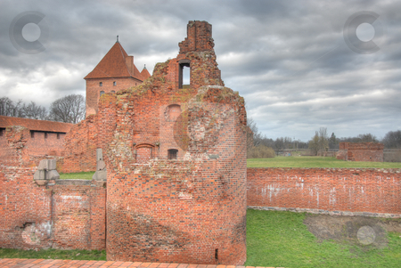 Castle in Malbork stock photo, A Middle Castle in Malbork, Poland in Europe by Joanna Szycik