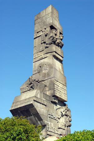 Westerplatte, Gdansk, Poalnd stock photo, Monument to the first attack of WW 2 Westerplatte Gdansk Poland by Joanna Szycik