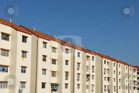 Perspective of Apartment stock photo, Perspective of Apartment by Jaggat Images