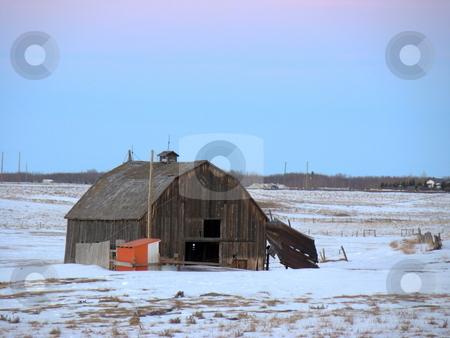 Old Barn stock photo, Old Barn by CHERYL LAFOND