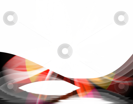 Abstract Swirl stock photo, A wavy abstract layout - great for use as a design template or background. by Todd Arena