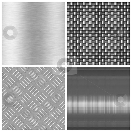 Modern Texture Collection stock photo, A collection of modern textures - most tile seamlessly as a pattern in any direction. Larger versions are also available in my portfolio. by Todd Arena