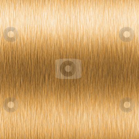 High contrast brushed gold stock photo, High contrast brushed gold metallic texture with horizontal lighting effects. by Todd Arena