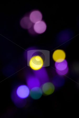 Bokeh Blobs stock photo, An abstract bokeh background with blurred light blobs. by Todd Arena