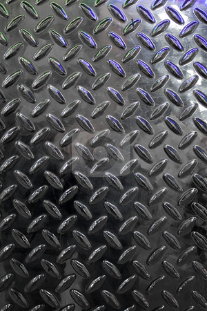 Real Diamond Plate stock photo, Closeup of real diamond plate material - this is a photo not an illustration. by Todd Arena