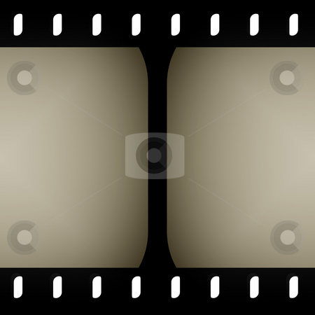 Seamless Filmstrip Frame stock photo, A filmstrip pattern that tiles seamlessly as a pattern - make it as long or as short as you need. by Todd Arena