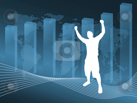 Business Success stock photo, World business illustration - fully editable. by Todd Arena