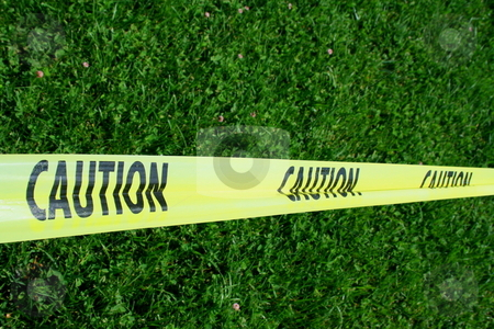 Caution Tape stock photo,  by Michael Felix