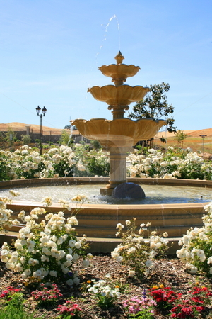 Fountain stock photo,  by Michael Felix