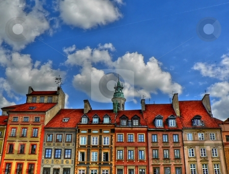 Old city in Warsaw stock photo, Old city in Warsaw called also Stare Miastro by Laurent Dambies