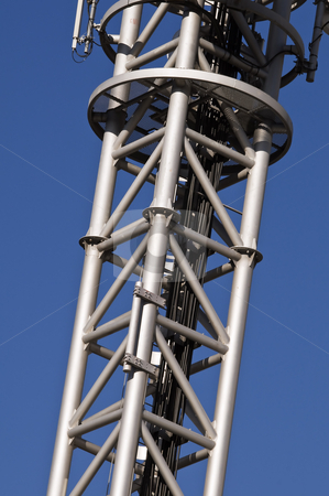 Framework stock photo, Detail of a framework made of steel pipes by Massimiliano Leban