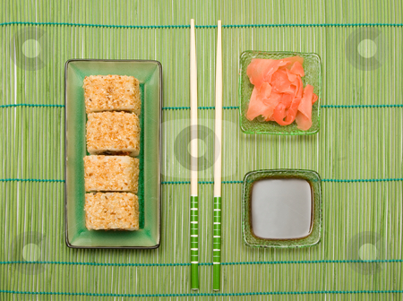 Japanese sushi stock photo, Japanese sushi by Andrey Butenko