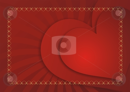 Love card background stock photo, Valentine's Day love card background by Mihai Zaharia