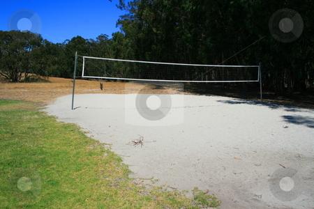 Beach Volleyball Court stock photo,  by Michael Felix