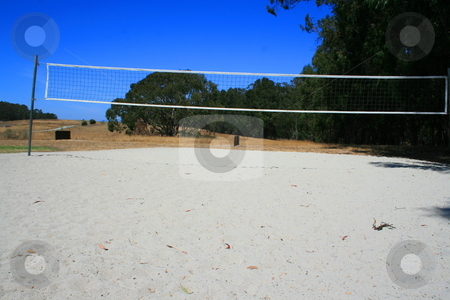 Beach Volleyball Court stock photo,  by Michael Felix