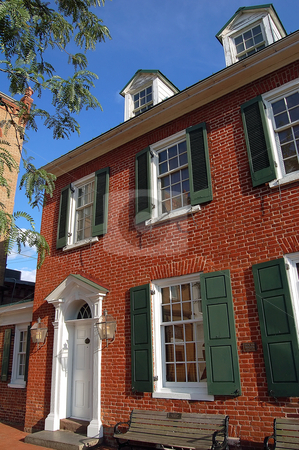 Old Building stock photo, Old Civil War building in Gettysburg by Alain Turgeon