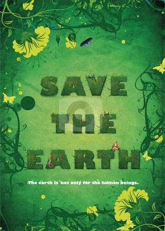 Save The Earth stock photo,  by Temma Yamamoto
