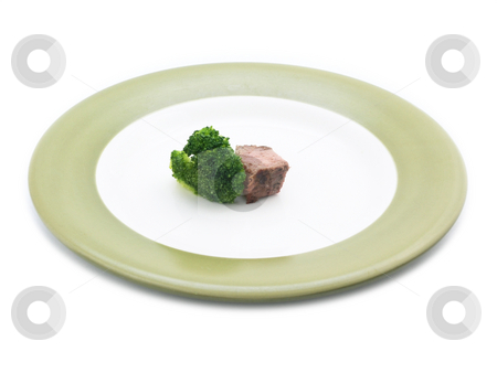 Diet stock photo, Steak and Broccoli by John Teeter