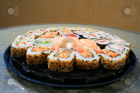 Sushi Assortment stock photo,  by Michael Felix