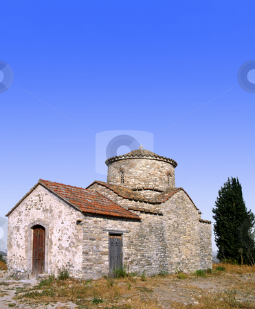 Lefkara church stock photo, A small church at Lefkara on the island of Cyprus by Paul Phillips