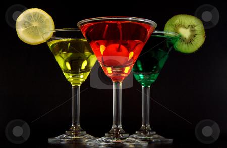 Colors martinis stock photo, Martininis de sabores by Rodrigo Reyes Marin