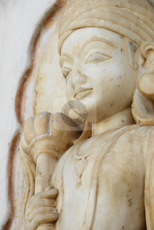 India Statue stock photo, A statue in India by A Cotton Photo
